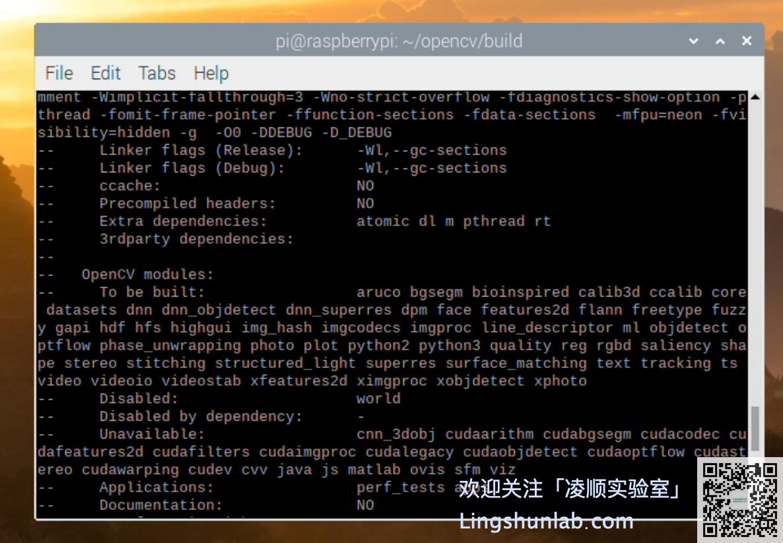 http://img.lingshunlab.com/raspberry-pi-install-opencv412-9_f.png